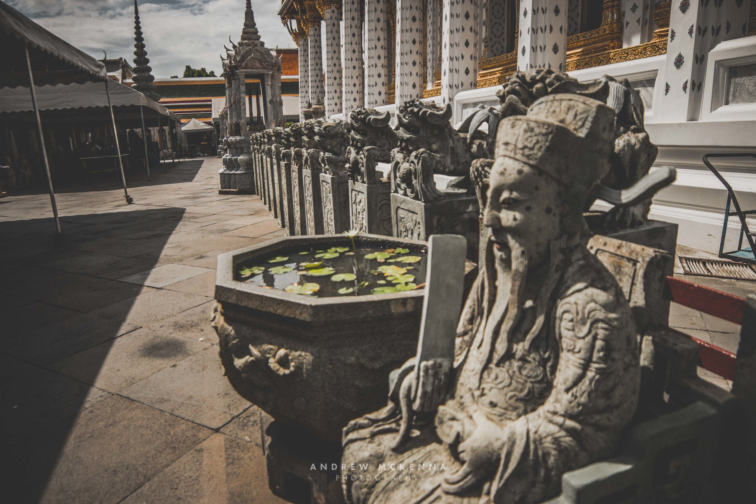 Wat Arun Temple Bangkok. Thailand, Photography by Andrew McKenna.