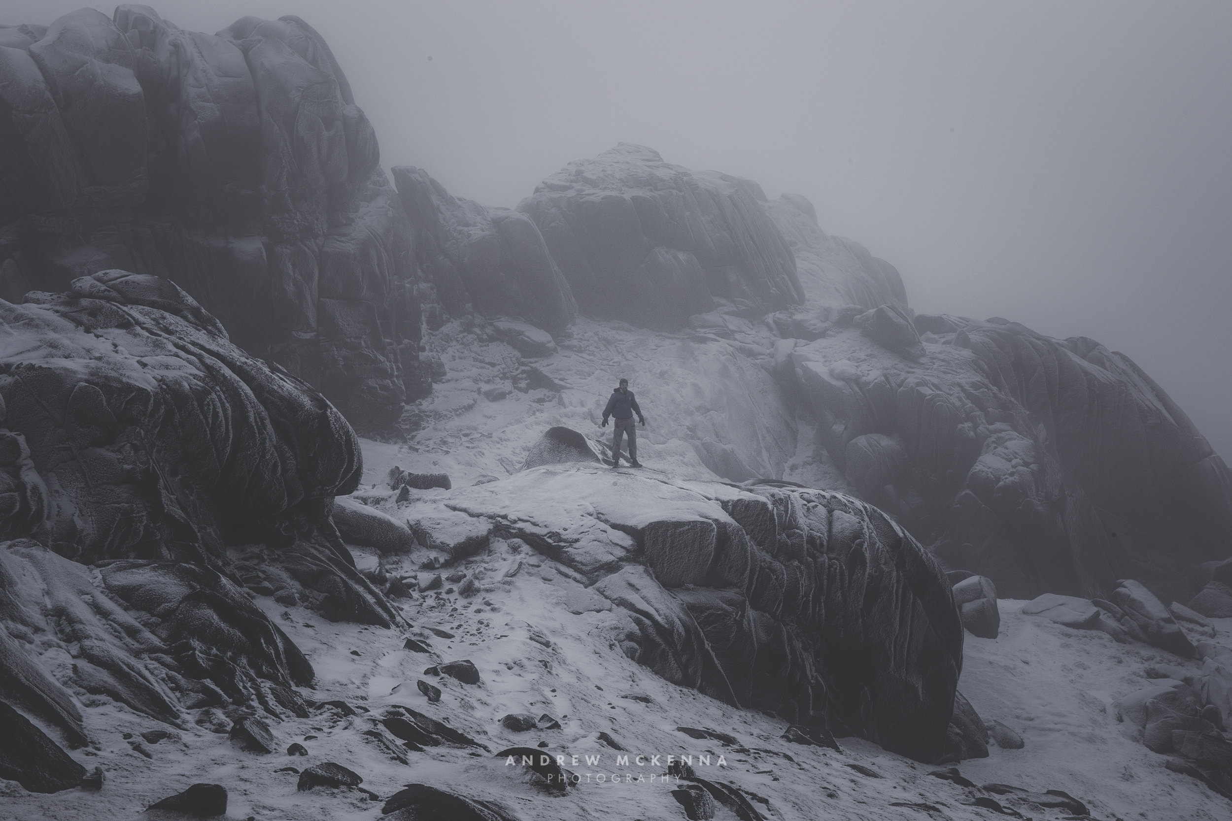 Slieve Bearnagh Mourne Mountains Andrew McKenna Photography