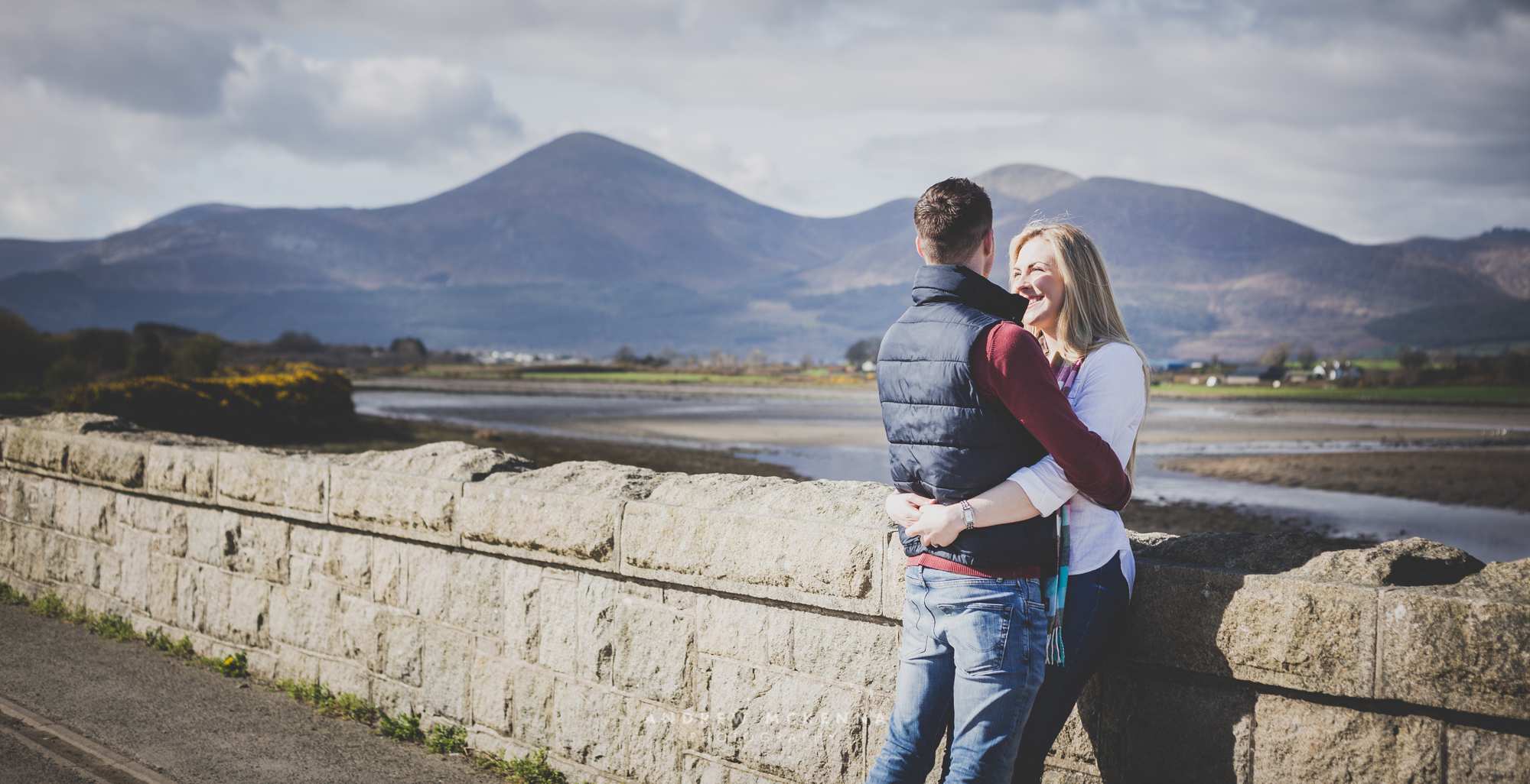 Engagement Photography, Keel Point Dundrum, County Down, Photographer Andrew McKenna