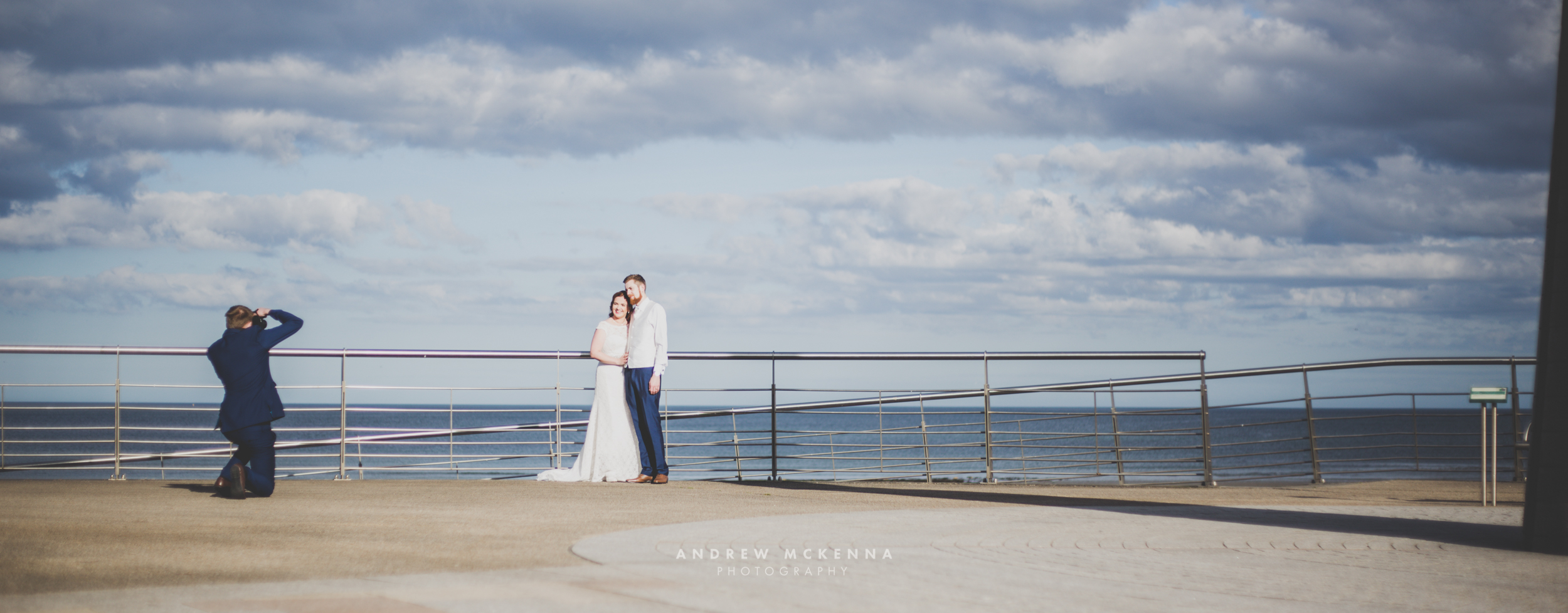Wedding Photography at Hugh McCann's Newcastle. Photographer Andrew McKenna, Newcastle County Down, Northern Ireland.