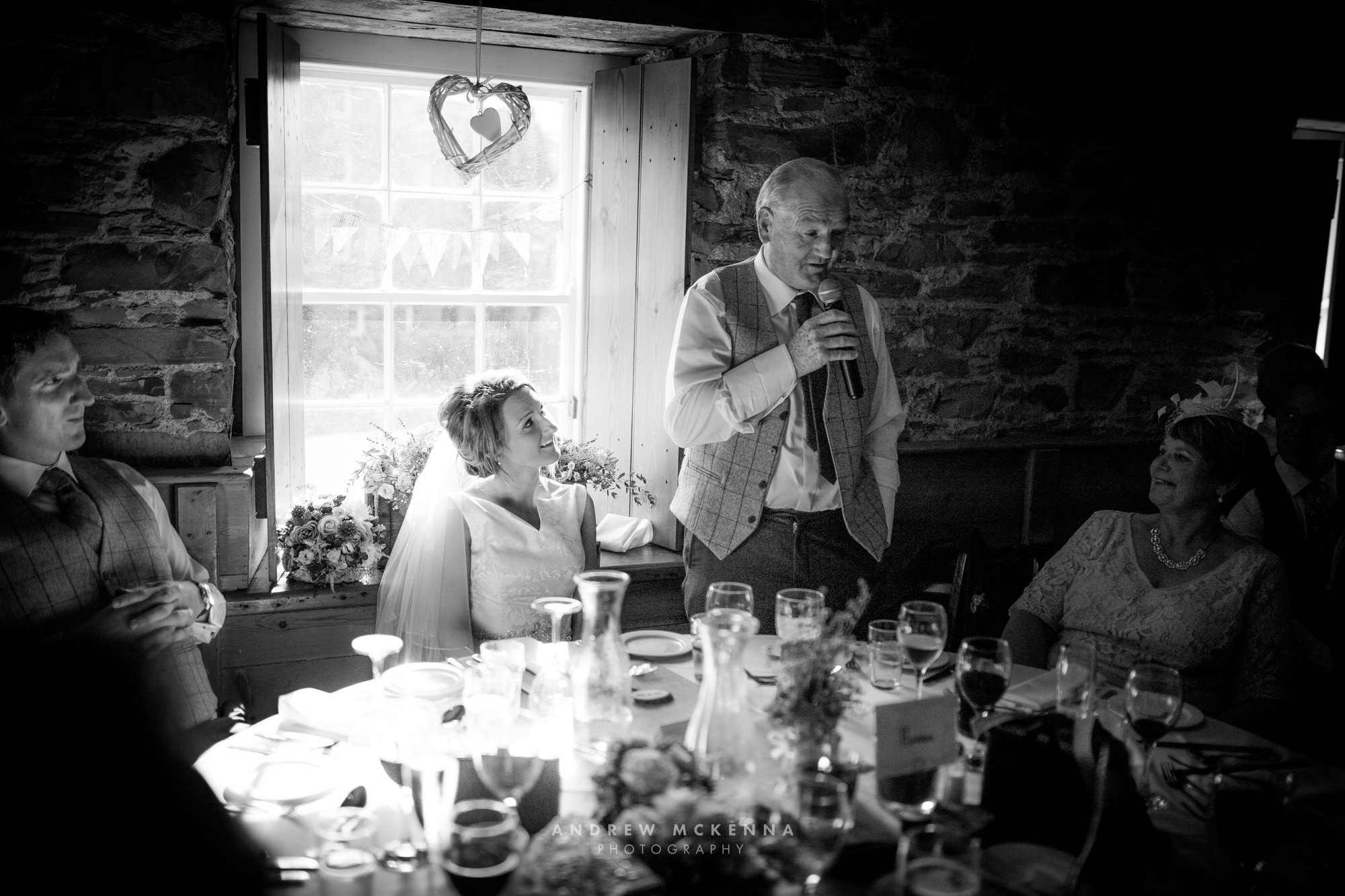 Michaela & Chris, Wedding Photography. The Mill At Ballyduggan. Photographer By Andrew McKenna Photography Newcastle County Down, Northern Ireland. (www.amckphotography.com)