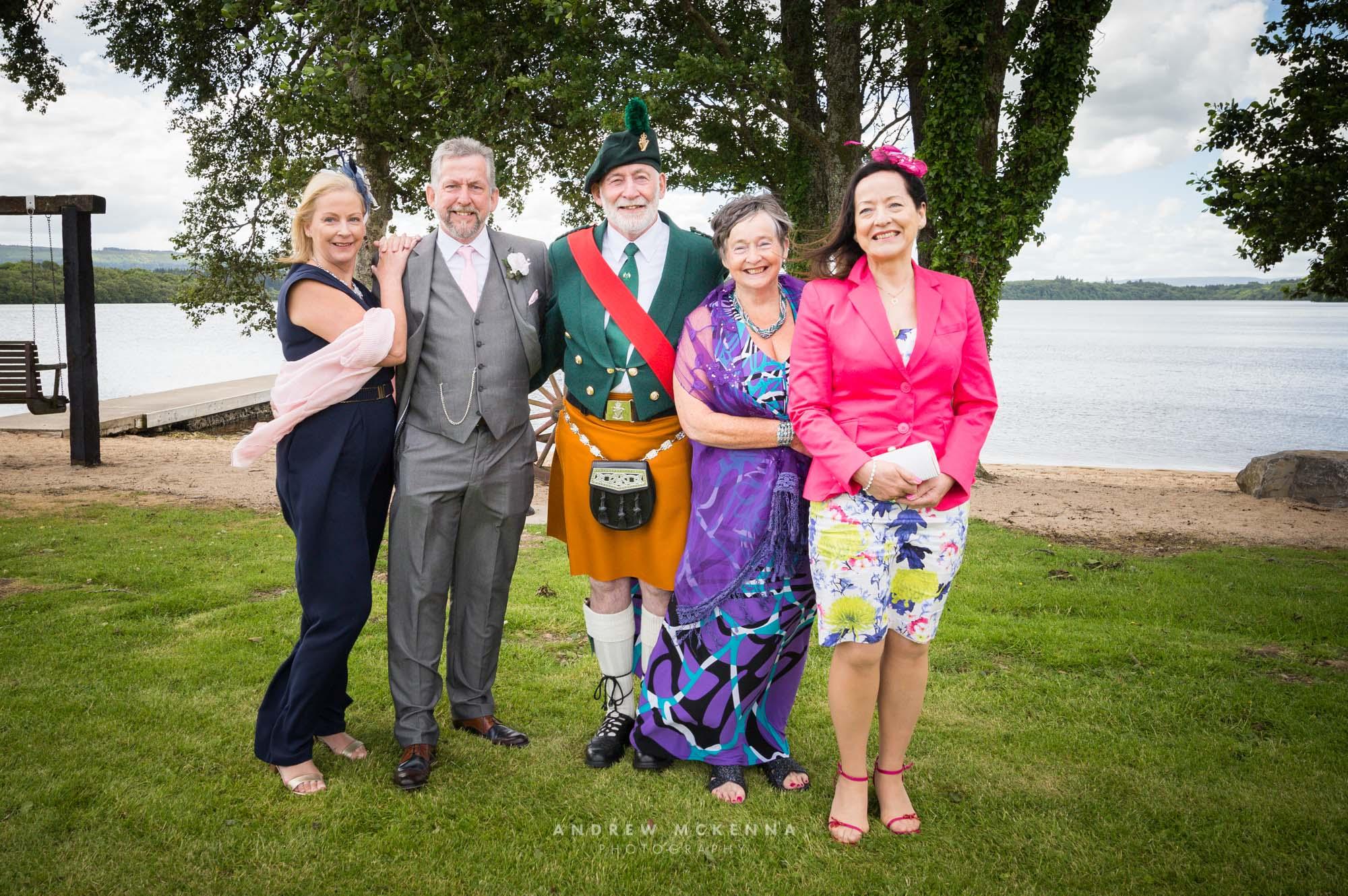 Anna & Ricky Rossharbour Resort on the shores of Lough Erne Wedd