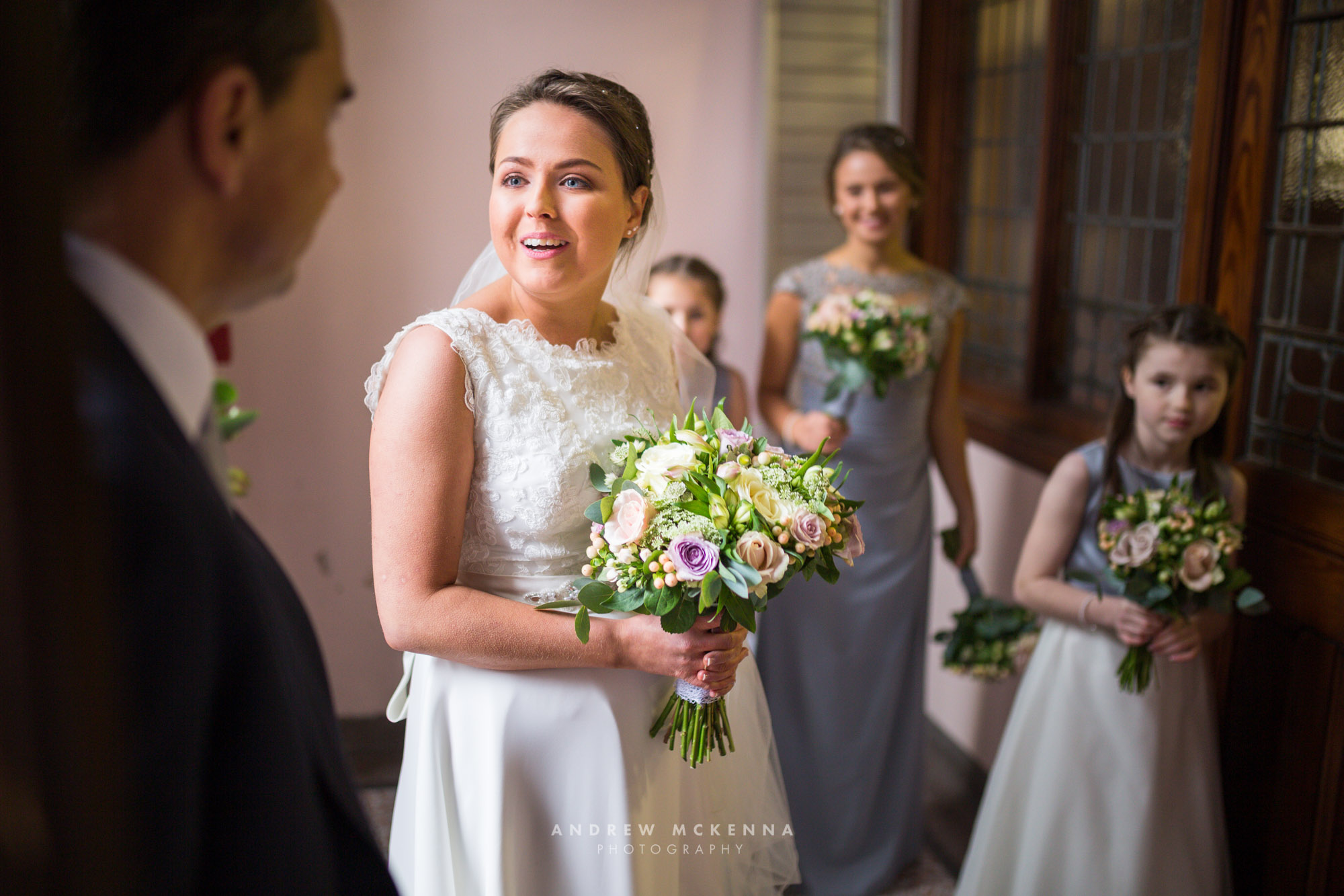 Laura & Andrew - Ballygally Castle Hotel - Wedding Photography N