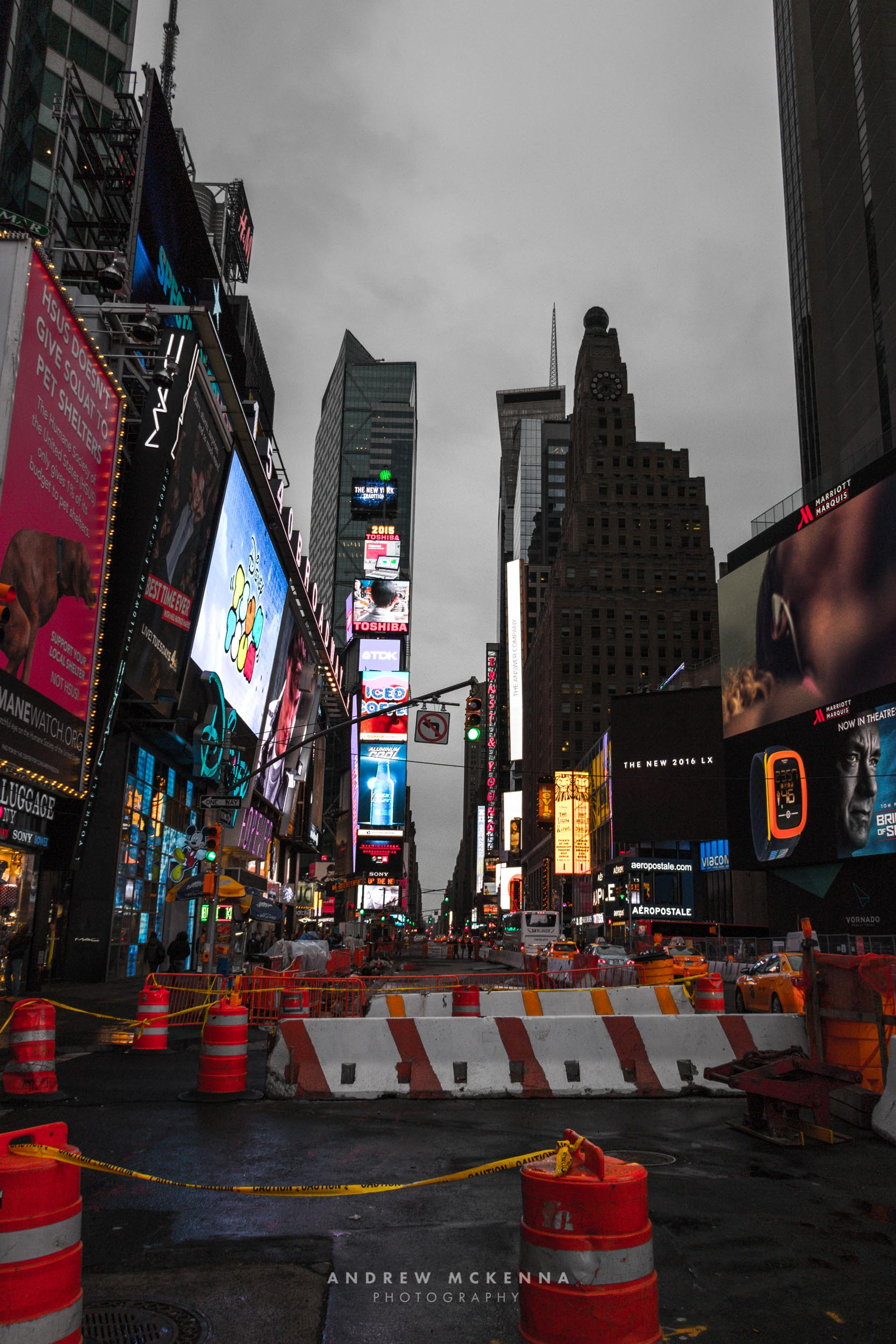 New York NYC Photographer Travel photographer Times Square