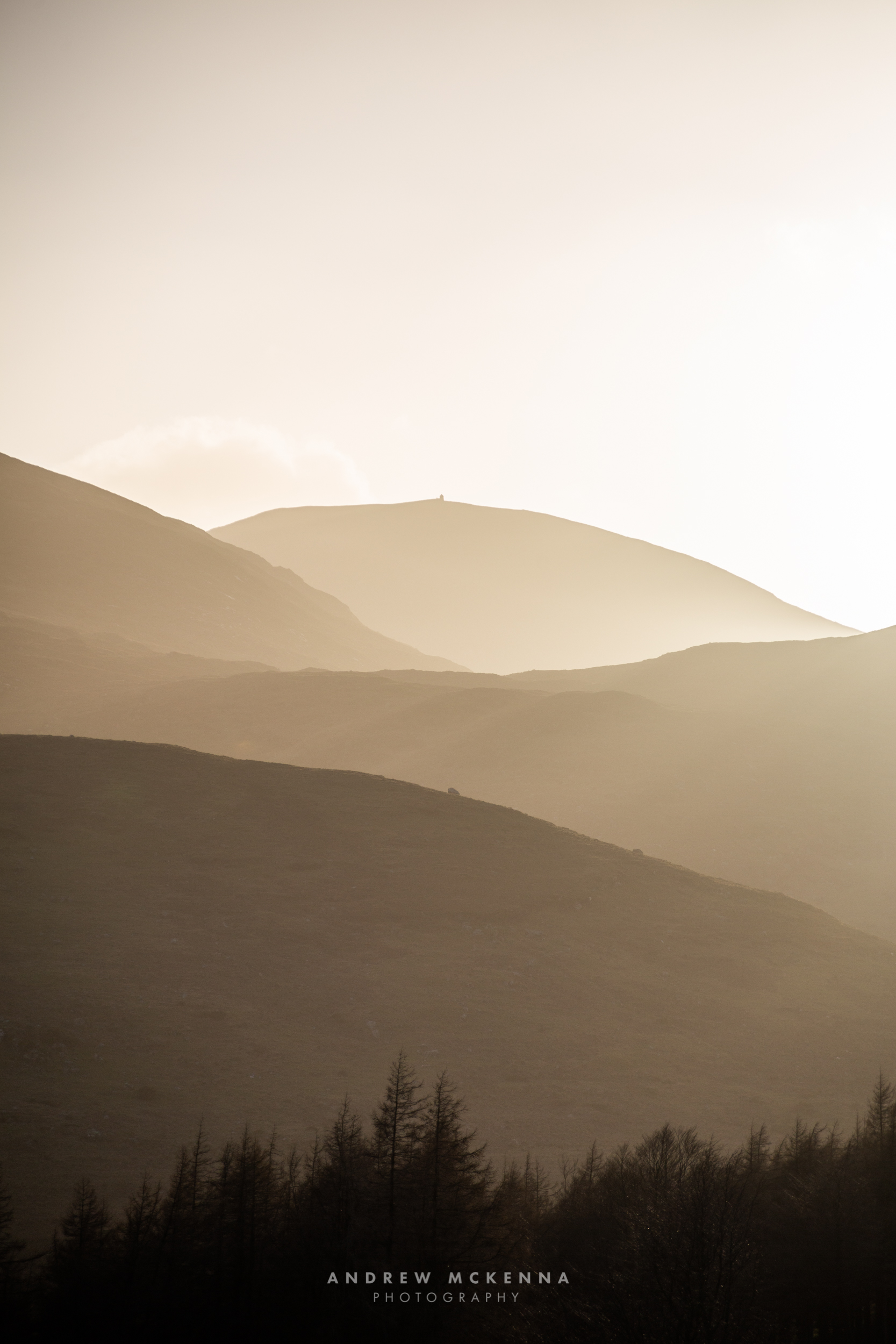 Slieve Meelmore Mourne Mountains Photography