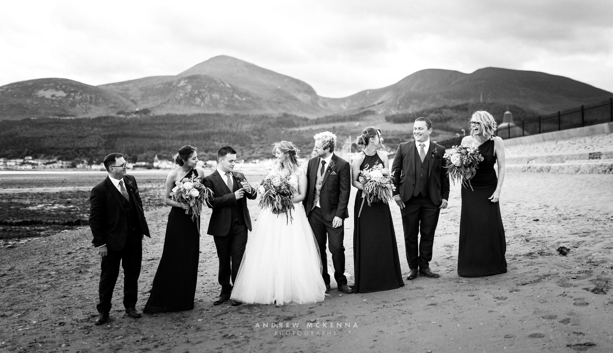Annie & Pete Slieve Donard Resort Wedding Photography Northern I
