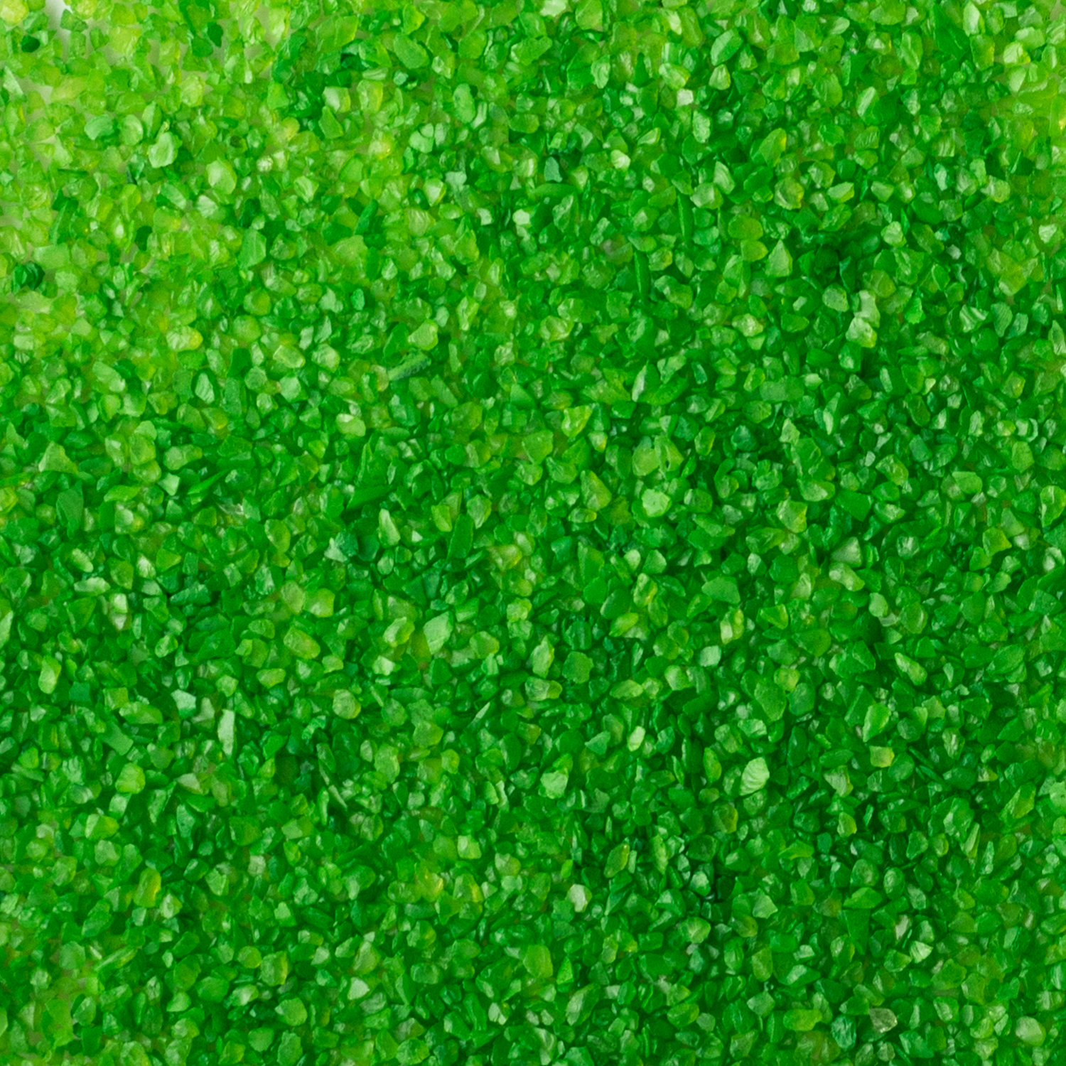 Green 0.8-1.2 mm color coated glass aggregate