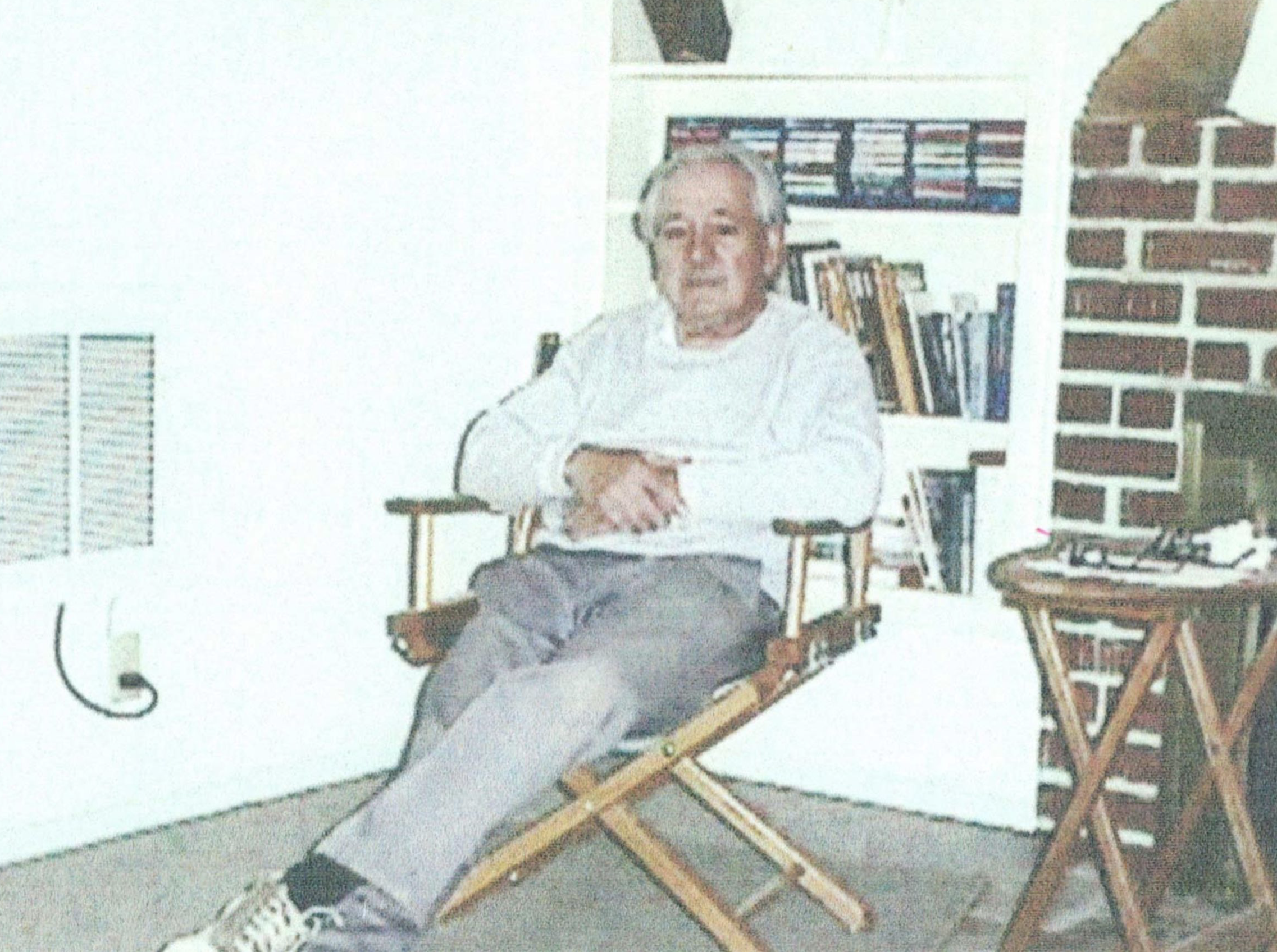 Eugene Brown at his home. SOURCE: TEHAMA COUNTY PUBLIC GUARDIAN