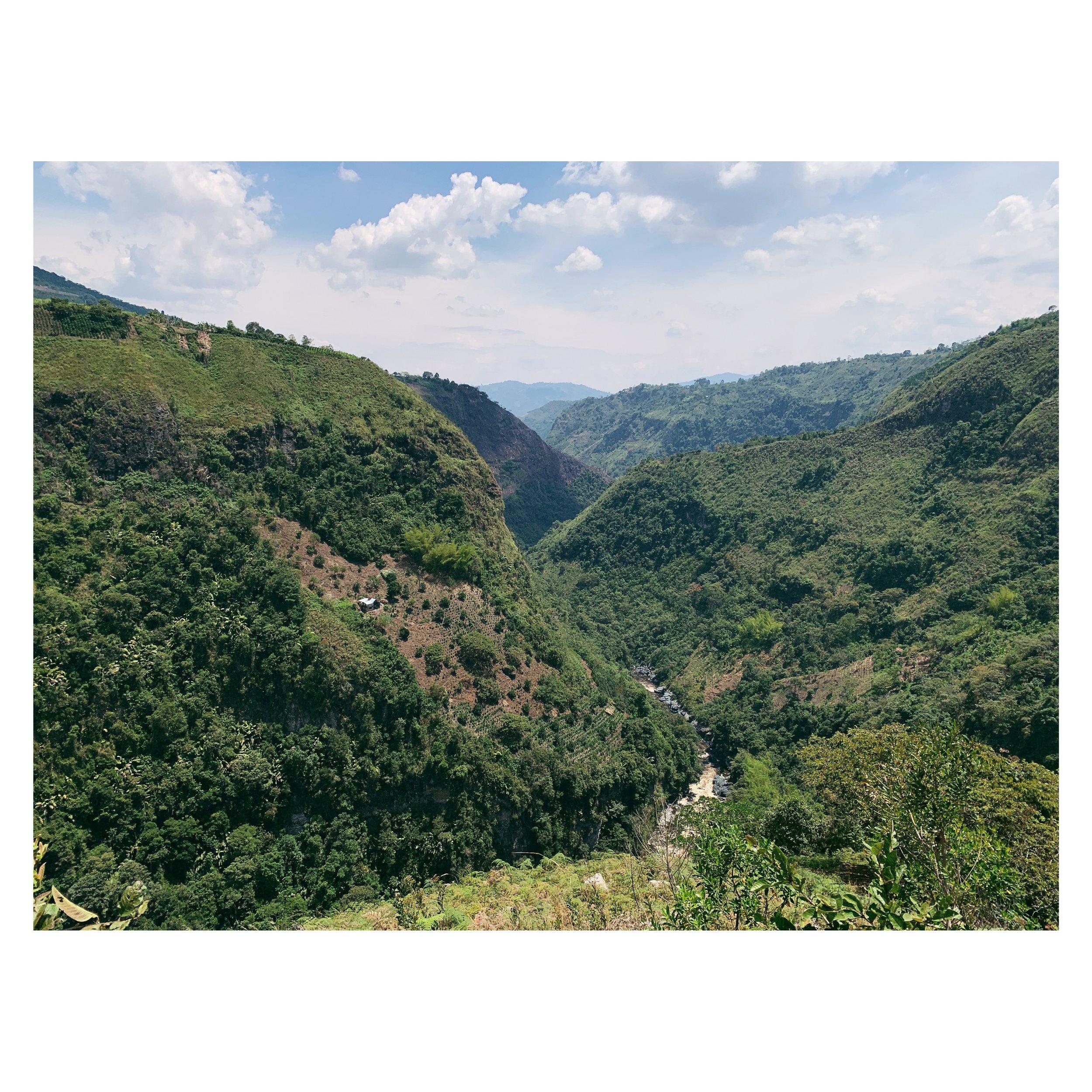 View near La Chaquira