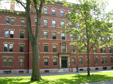 Thayer Hall at Harvard