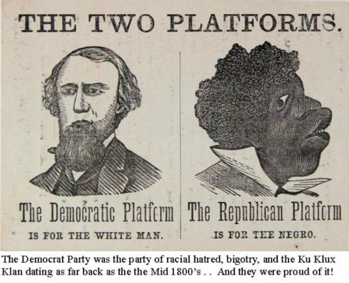 "A historical example of a political party openly advocating tyranny of the majority–and an example showing that the word ""democratic"" is such a positive word it is often avoided by those criticizing the Democratic Party"