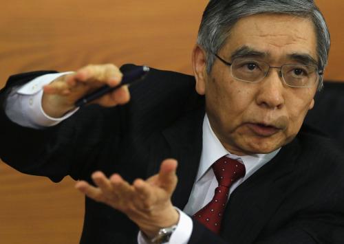 Haruhiko Kuroda, 31st Governor of the Bank of Japan