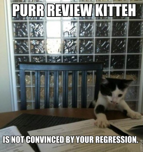 Reblogged from  econlolcats :   Everyone's a critic. By MichaelH.