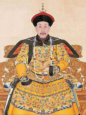 The Qianlong Emperor of the Qing Dynasty