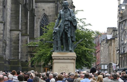 Adam Smith, Patron Saint of Supply-Side Liberalism–a Worthy Hero
