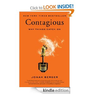 Kindle link for Jonah Berger's  Contagious
