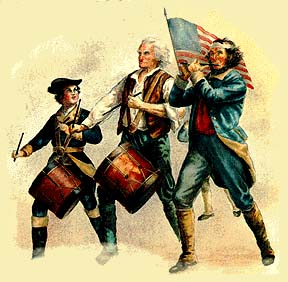 """Spirit""–an iconic painting symbolizing the American Revolution"