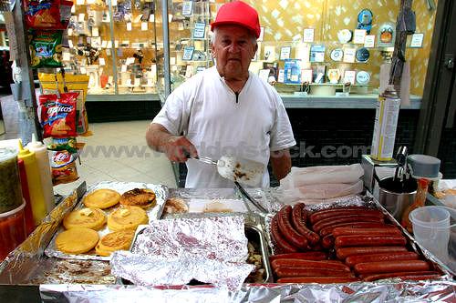 A Street Vendor in Florida