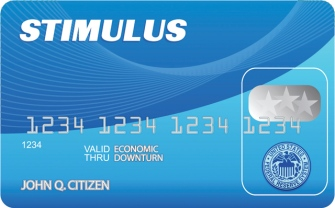 Proposed Federal credit card (illustration from Detroit Metro Times article)
