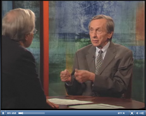 Bill Greider with Bill Moyers, July 18, 2008 (video)