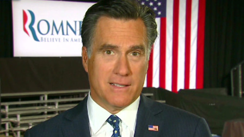 "Mitt Romney when he said ""I'm not concerned about the very poor…"""