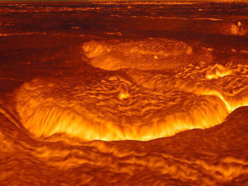 "Surface of Venus–an illustration to ""Fiscal Armageddon"""