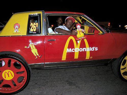 McDonald's Car