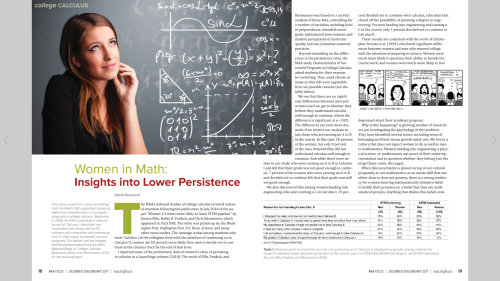 "Link to ""Women in Math: Insights Into Lower Persistence"""