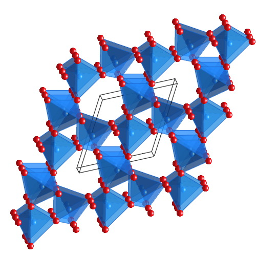 crystal structure of quartz