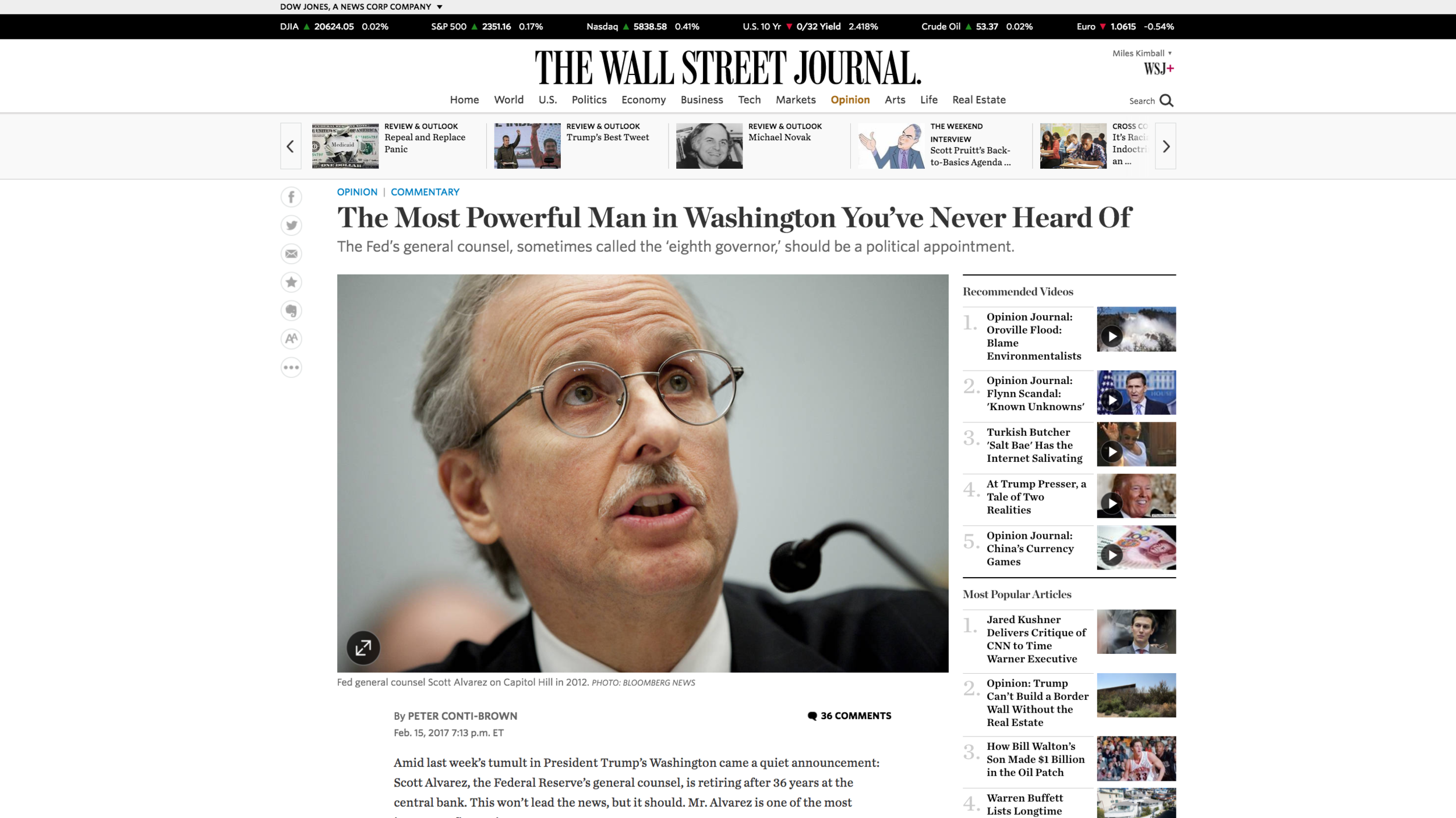 Link to Peter Conti-Brown's op-ed in the Wall Street Journal
