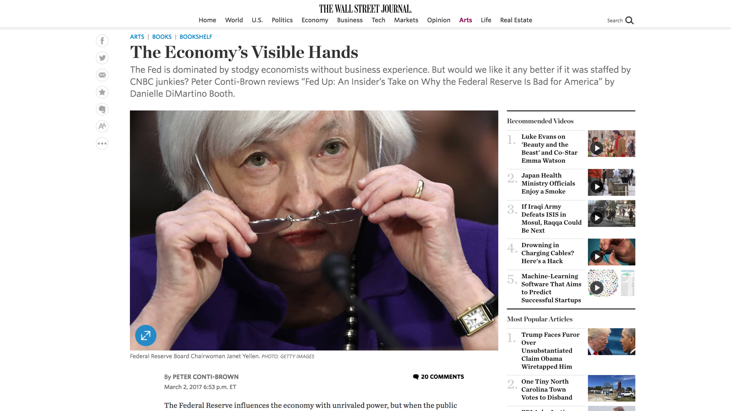 Link to the Wall Street Journal op-ed shown above