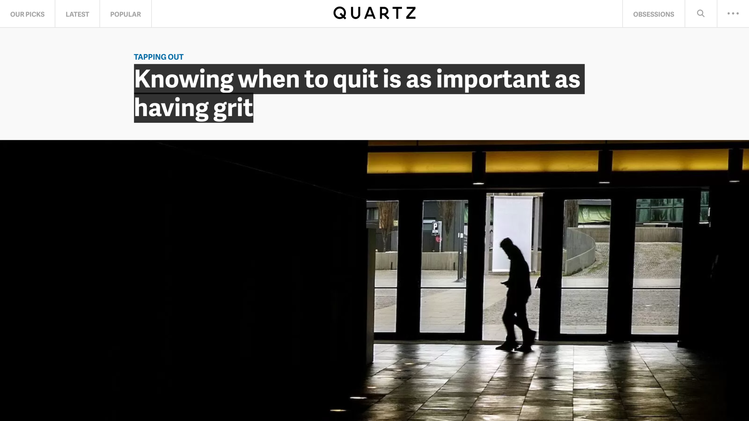Susan David: Knowing When to Quit Is as Important as Having Grit