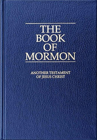 Link to the Wikipedia page for  The Book of Mormon,  authorship contested