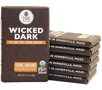 Amazon sit for Taza Chocolate Wicked Dark