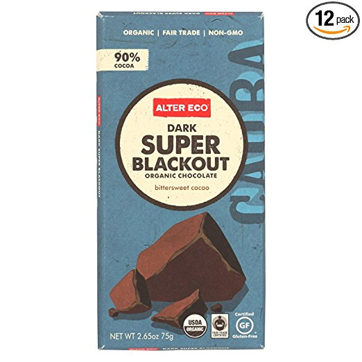 Amazon site for Alter Eco Dark Super Blackout