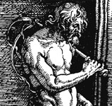 "Image source .  Link to the Wikipedia article for ""Flagellant."""