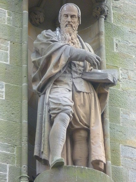 John Knox , one of the leaders of the Protestant Reformation and founder of Presbyterianism in Scotland