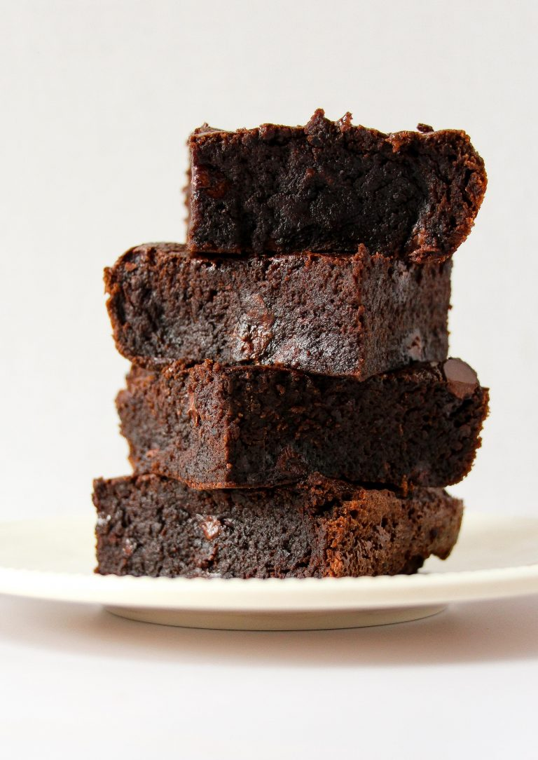 image source    (a different recipe for black bean brownies)