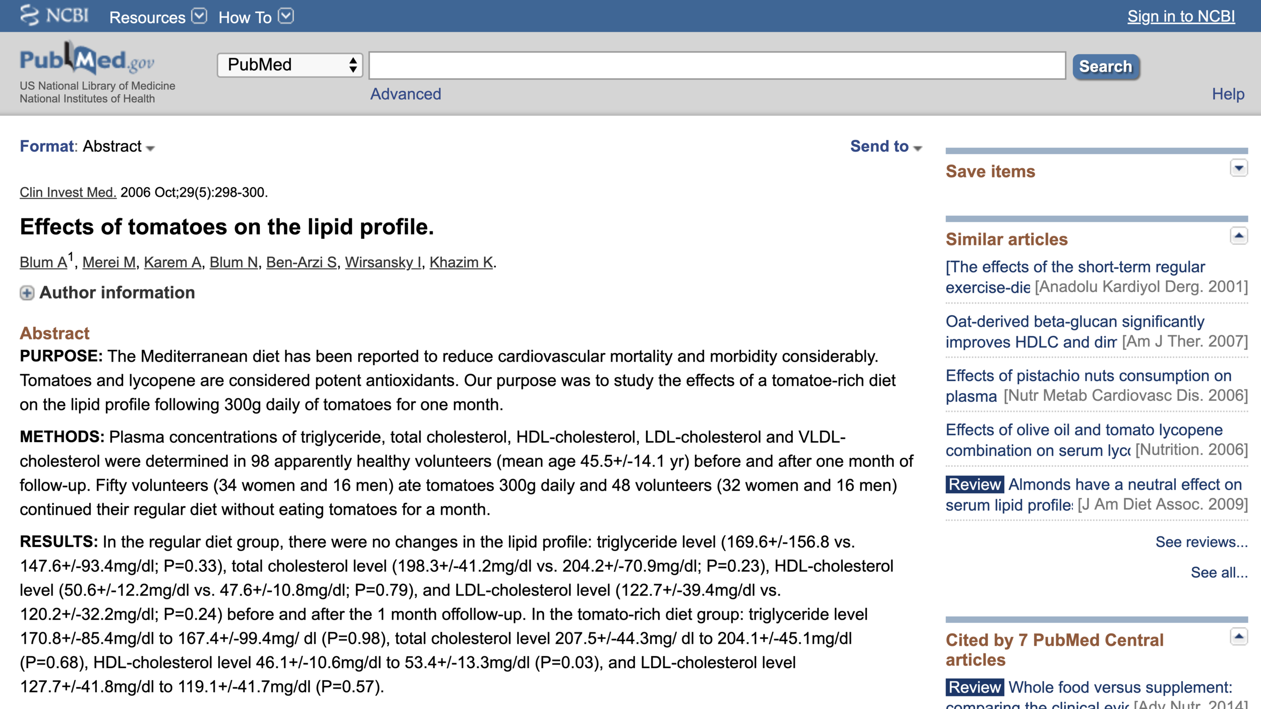 Link to the abstract shown just above