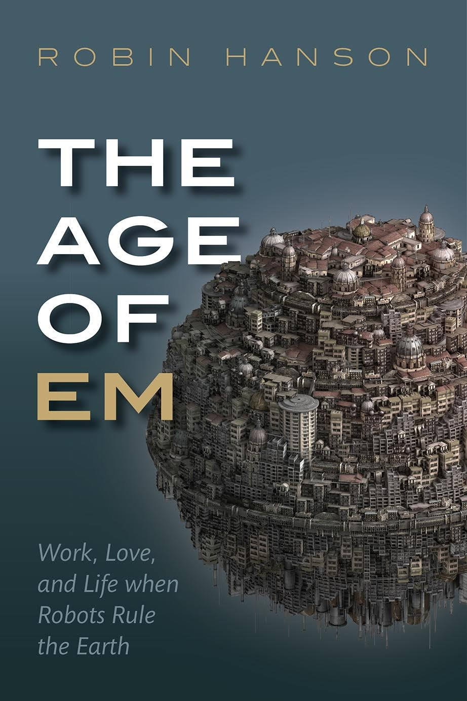 Link to the Amazon page for The Age of Em