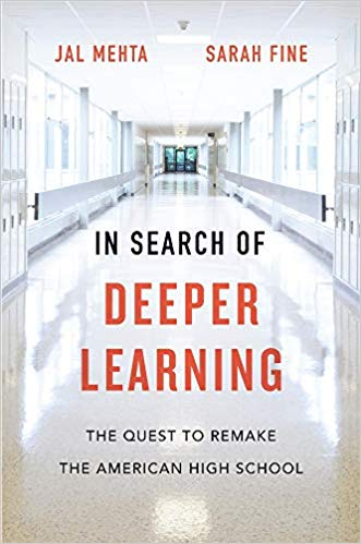 Link to the Amazon page for In Search of Deeper Learning