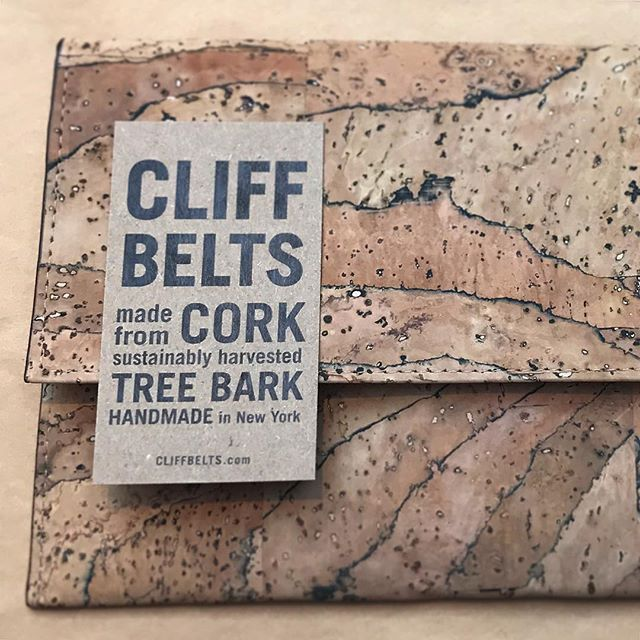 Oh no! Only two more of these all natural cork clutches in stock! Interested? DM me for details 😉#corkfashion #cork #corkbag #corkfabric #vegan #veganblogger #veganlife #vegansofinstagram #veganlifestyle #veganfashion #vegangirl #madeinnyc #madeinny #madeinamerica