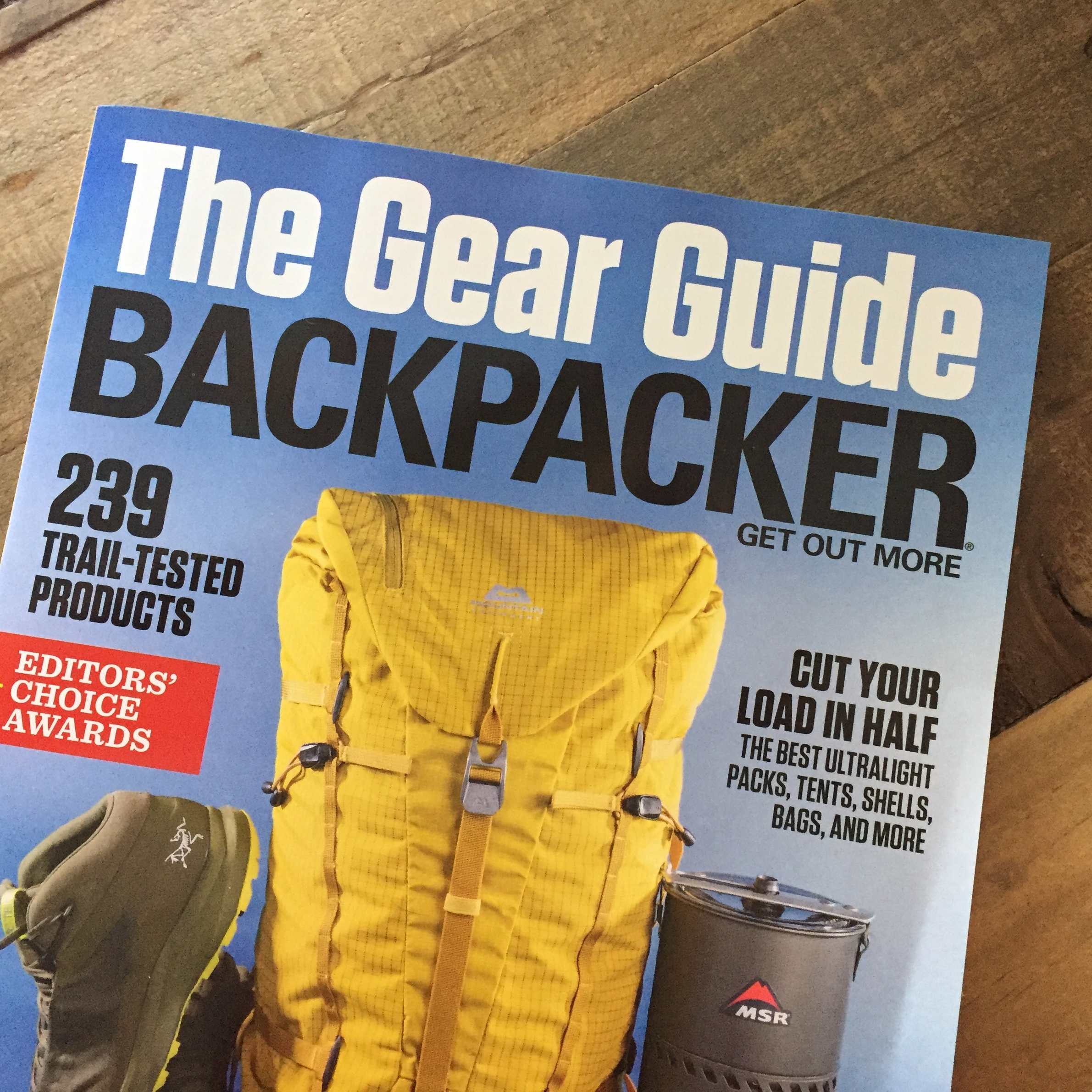 Backpacker Magazine Spring Gear Guide 2019