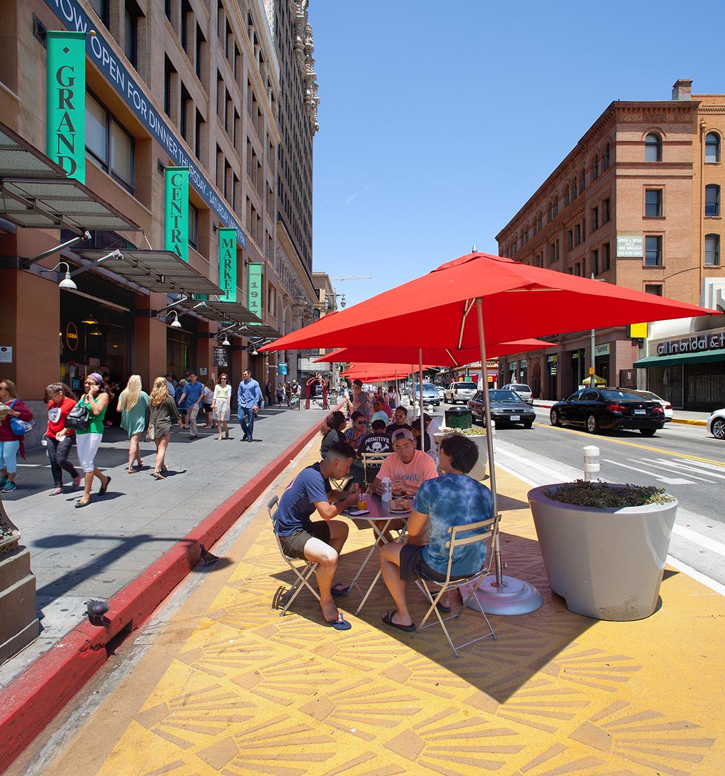 "Broadway Pilot Streetscape ""Dress Rehearsal"" (Los Angeles, CA)"
