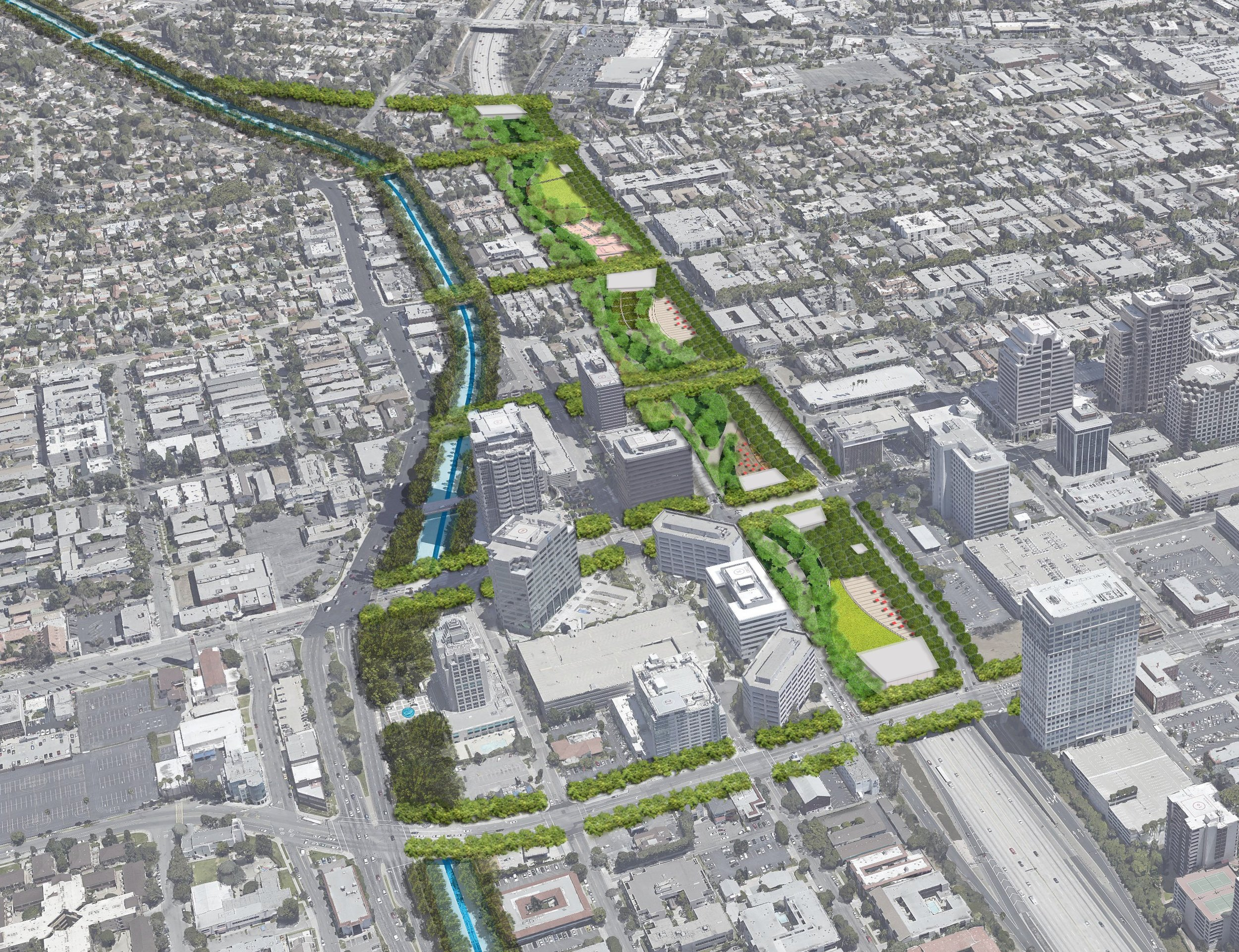 Space 134 Vision Plan - Freeway-to-Park (Glendale, CA)
