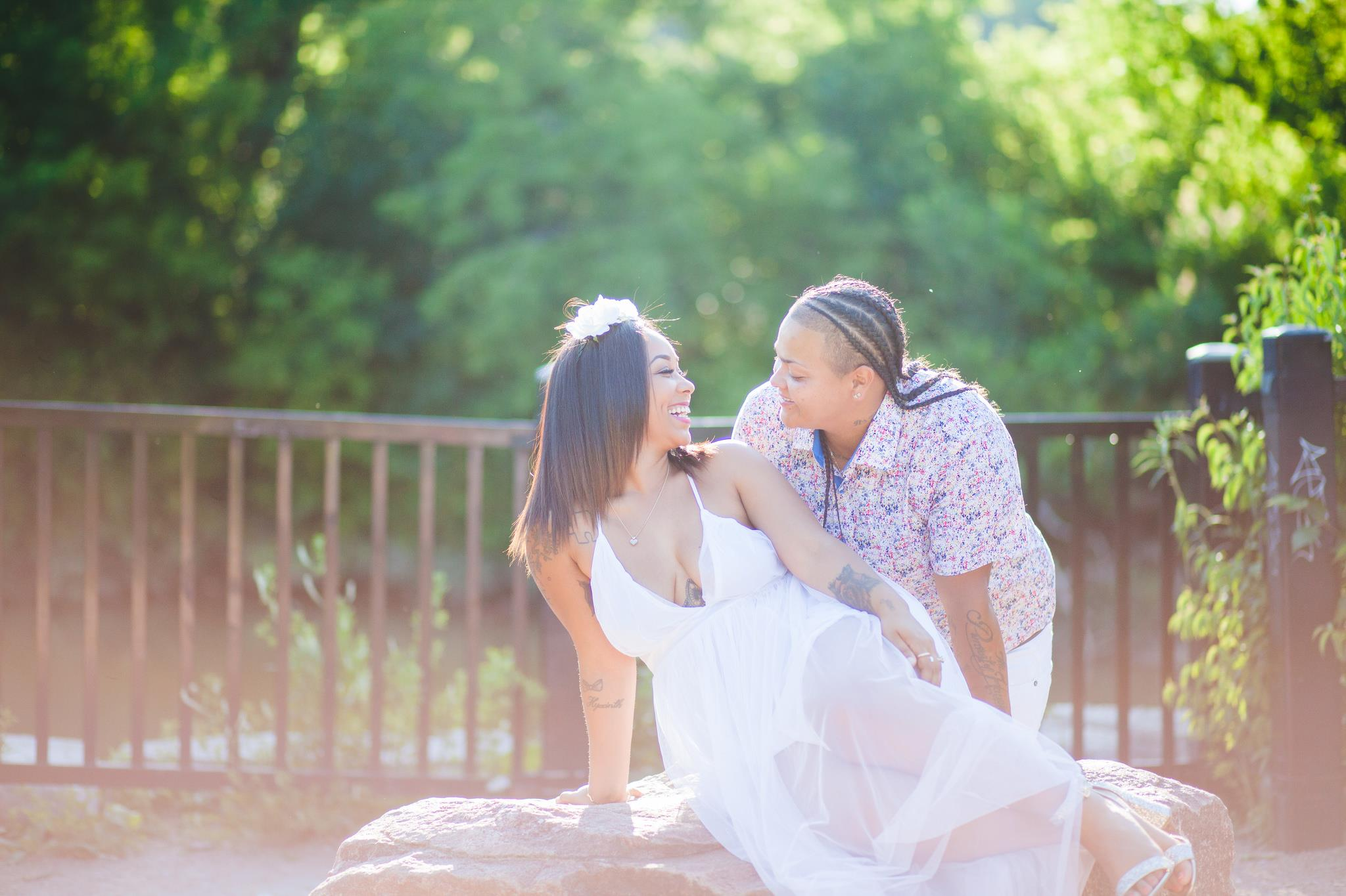 gay lesbian engagement pictures-
