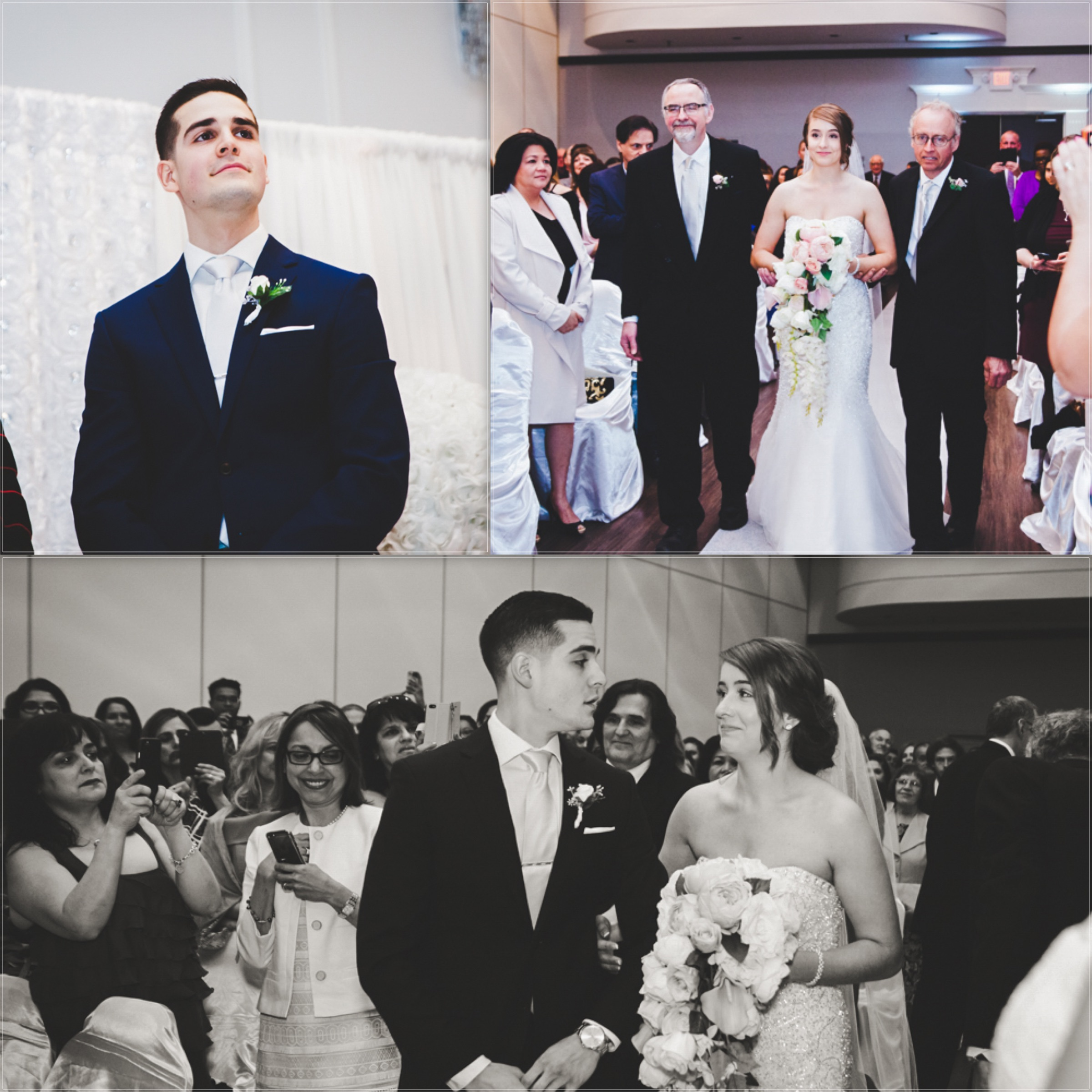 FIRST LOOK OF THE BRIDE REVEAL WEDDING PHOTOS   TORONTO WEDDING PHOTOGRAPHER