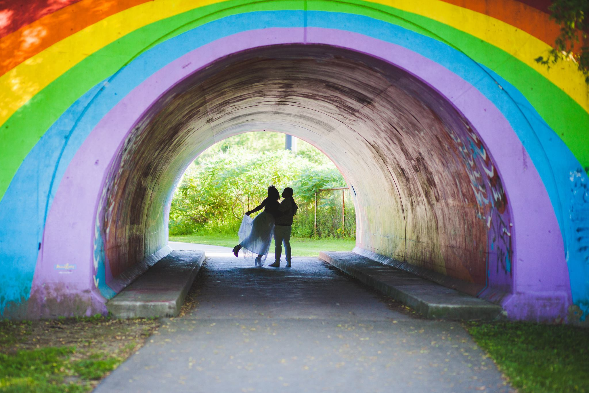 Don valley park way rainbow bridge wedding photographer in Toronto and Guelph ontario-