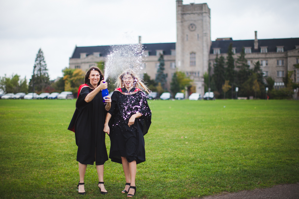 university of guelph graduate photoshoot-