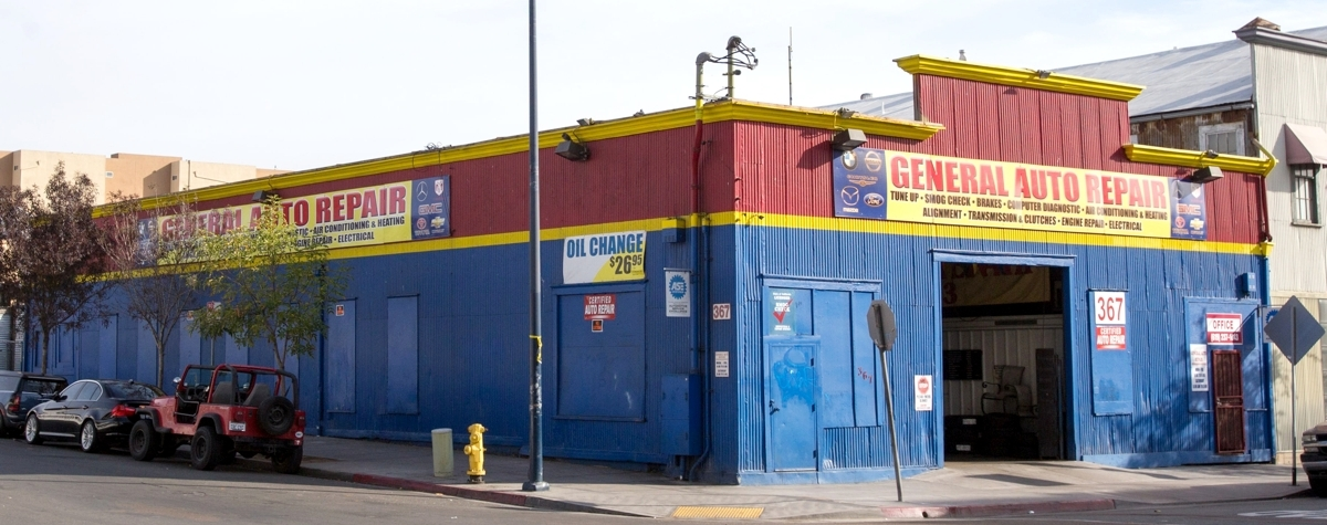 General Auto Repair located in downtown San Diego!